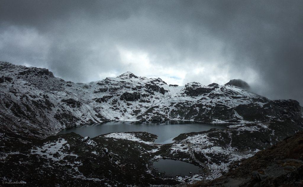 The Lake located in Maklu Barnu National Park.